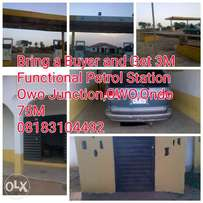 Recession Deal-Cheap Functional Petrol Station on a busy Road,Owo,Ondo