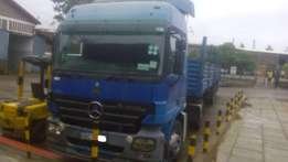 Scania Actros KBA clean accident free at 2.5m