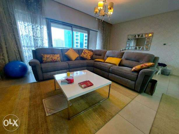 Spacious 2 BR 3 baths furnished apartment Luxury building