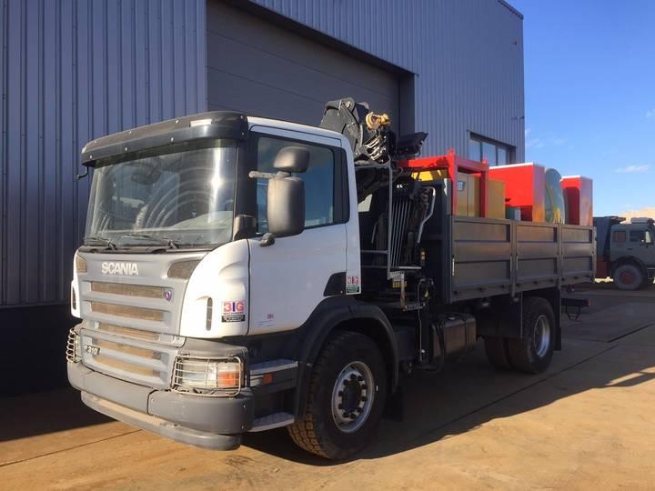 Scania P310 4x2 Service Truck with Crane Hiab 111BS-2 CLX NEW/UN...
