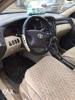 registered 2004 model Toyota Highlander