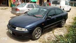 Blue Mitsubishi available for sell at affordable price