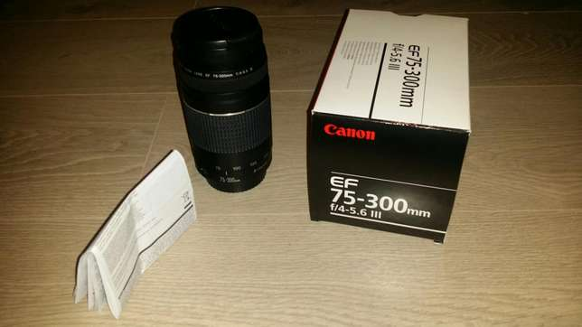 Canon EF 75-300mm f/4-5.6 lll Camera Lens For Sale-R1000 Bellville - image 1