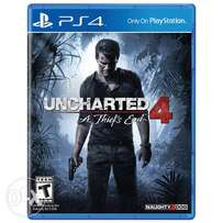 Uncharted 4 perfect condition (after sale value & delivary)