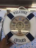 Welcome Aboard Clock New