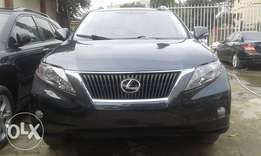 Extra clean and sharp foreign used 2010 model Grey Lexus RX 350