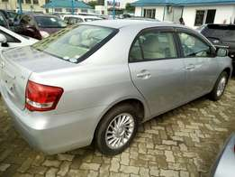 Silver Fully loaded with Navigation Monitor Toyota Axio