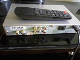 Star times decoder plus remote.