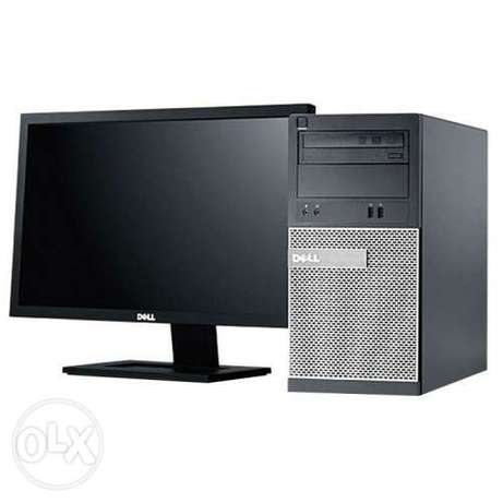 "DELL OPT 9010-i7-8GB RAM-500GB-HDD 20""inch monitor"