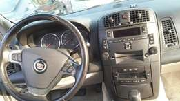 Extremely clean/perfect Tokunbo Cardillac 2005 model leather interior