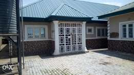 2 bedroom bungalow at newsite Fha Lugbe