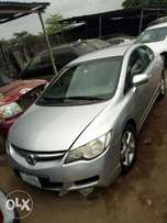 very clean Honda civic 2007 with AC V4 buy and drive