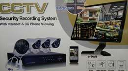 4 Channel HD CCTV Kit