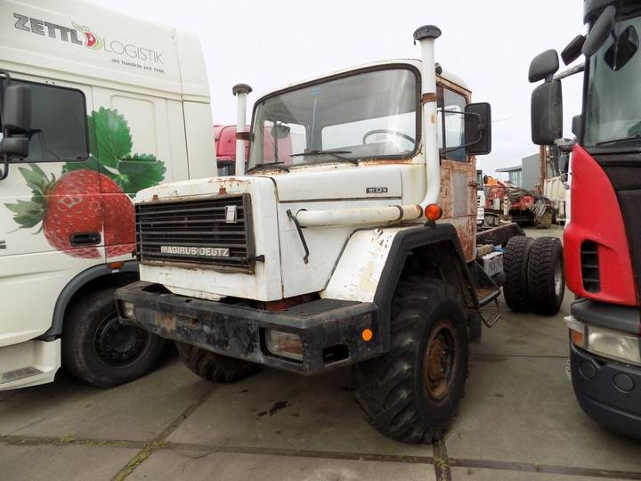 Iveco magirus chassis truck - 1988