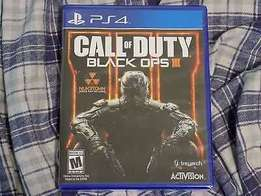2 week old Call of duty black ops 3 for ps4