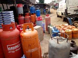 Gas Cylinder Seasonal Discount Sales.