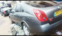A very clean Tokunbo Nissan Primera 2003/2004