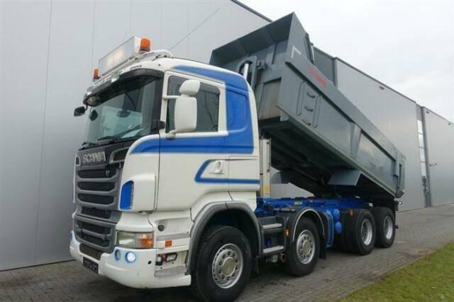 Scania R500 8X4 FULL STEEL HUB REDUCTION EURO 5 - 2012