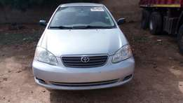 Toyota corolla 2005 direct Belgium with full duty