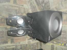 computer speakers with boom box