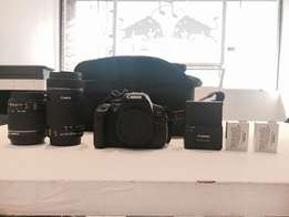Canon 700d Camera with 2x Lenses and Accessories *GREAT CONDITION