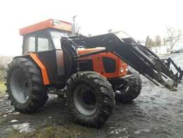 Landini Tractor DTT 950125 Hp Fitted With Loader ( PAWEL ) 1977