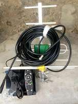Gotv with antenna still as new ready for grab only serious customer's
