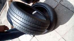 2 X 245/40/19 run flat Michelin primacy tyres for sell