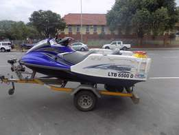 yamaha fx 160 on trailer low hours