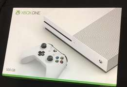 xbox one s machine new sealed with 4k