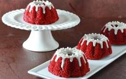 Pharaohs frozen Red Velvet muffin mix.