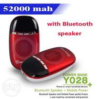 Bilitong 5200 mAh PowerBank + Wireless Bluetooth speaker