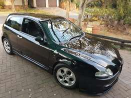 Alfa 147 a must see luxury car. Car very well maintained with books.