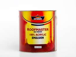 Crown Roofmaster Self Priming Acrylic Paint
