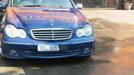 Stripping for parts Mercedes estate C350