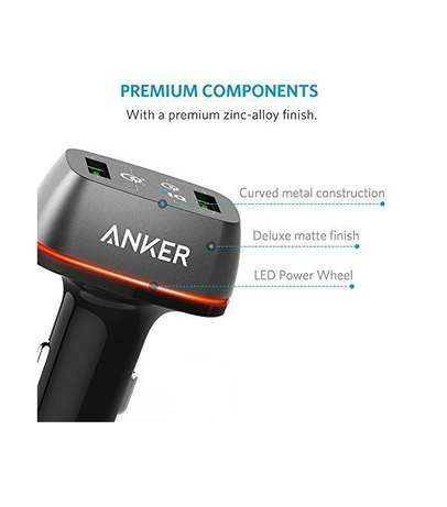 ANKER USB charger Powerdrive+. Quick Charge 3. Premium 2-Port USB Mombasa Island - image 5