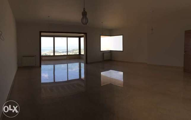 250 sqm new apartment for rent mtayleb / metnشقة للإجار المطيلب