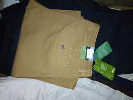 Khaki trousers for men. SCROLL to see all colors available