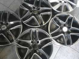 Set of 16 inch TSW mag rims going for 4500rand set of four