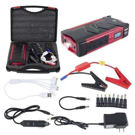 18000mAh Multi-Function Car Jump Starter Power Bank Ejigbo - image 5