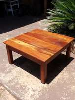 Teak Coffee Table (830x830x425)