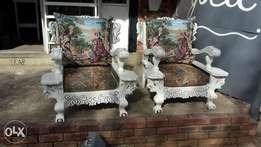 Ball and claw chairs(1500 each)
