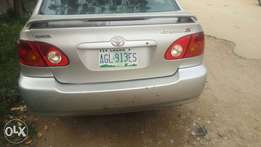 Neatly used registered 2003 Toyota corolla sport
