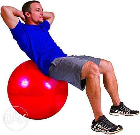 Stability ball for fitness at home