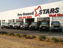Toyota Land cruisers and bakkie Vaal Mall Bernice