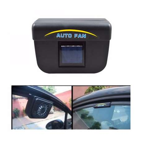Solar Powered Car Auto Cool Air Vent Cooler Cooling Fan Nairobi CBD - image 1