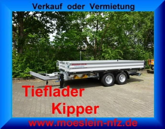 Möslein TTD 13 Silber 13 t Tandem 3- Seitenkipper Tiefla - 2019