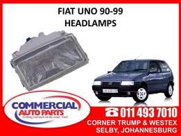 Fiat Uno 90-99 Headlamps for sale