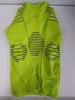 8989c96983d966 Dziecięca koszulka termoaktywna X-Bionic INVENT zielona 6/7 lat