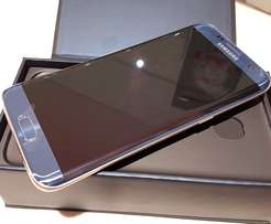 Brand new Samsung galaxy s7 edge for sale blue coral
